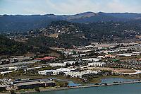 aerial photograph San Rafael Marin County, California