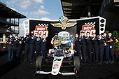 #30: Takuma Sato, Rahal Letterman Lanigan Racing Honda in Victory Lane with Thunderbirds