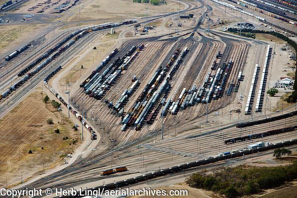aerial photograph Bailey Yard, North Platte, Nebraska
