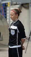 Bekerfinale vrouwen 2015 : Lierse-Club Brugge Vrouwen <br /> <br /> 4e referee : Loïs Otte<br /> foto VDB / BART VANDENBROUCKE