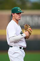 Beloit Snappers third baseman Nic Ready (9) during a game against the Peoria Chiefs on August 18, 2021 at ABC Supply Stadium in Beloit, Wisconsin.  (Mike Janes/Four Seam Images)