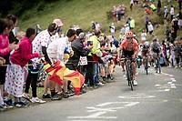 Serge Pauwels (BEL/CCC) up the Horquette d'Ancizan<br /> <br /> Stage 12: Toulouse to Bagnères-de-Bigorre(209km)<br /> 106th Tour de France 2019 (2.UWT)<br /> <br /> ©kramon