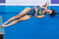 PYSMENSKA Anna UKR<br /> 3m Springboard Women Preliminary<br /> Diving<br /> Budapest  - Hungary  15/5/2021<br /> Duna Arena<br /> XXXV LEN European Aquatic Championships<br /> Photo Giorgio Perottino / Deepbluemedia / Insidefoto