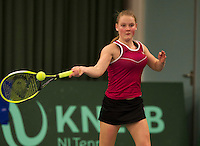Rotterdam, The Netherlands, March 20, 2016,  TV Victoria, NOJK 14/18 years, Suzan Lamens (NED<br /> Photo: Tennisimages/Henk Koster