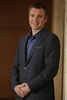 Le president-directeur general d'Ubisoft Montreal et Toronto prononce une allocution a la tribune du Cercle canadien de Montréal, lundi 9 mai 2016.<br /> <br /> Yannis Mallat, President & CEO of Ubisoft Montreal & Toronto, delivers a speech to the Canadian Club of Montreal, Monday May 9, 2016.<br /> <br /> PHOTO : Pierre Roussel - Agence Quebec Presse