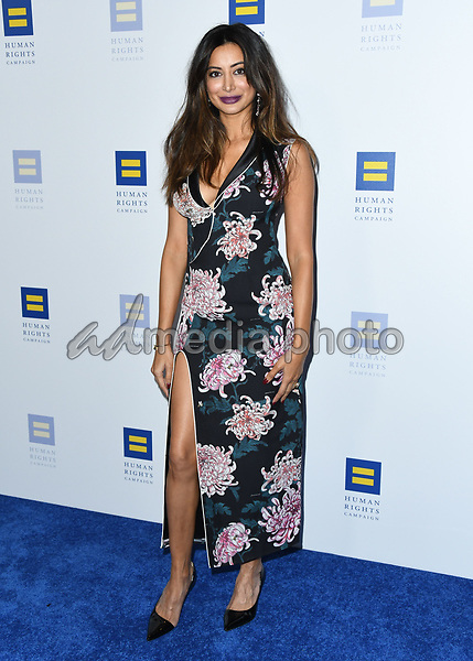 10 March 2018 - Los Angeles, California - Noureen DeWulf. The Human Rights Campaign 2018 Los Angeles Dinner held at JW Marriott LA Live. Photo Credit: Birdie Thompson/AdMedia