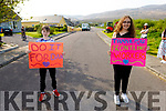 Mark O'Brien and Aoife Burke  showing their suppor for Dancing for Dan in Tonavane on Saturday morning.