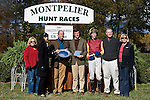 07 November2010: Awards for Tizsilk and Paddy Young winning the Constitution Hurdle at Montpelier Hunt Races in Montpelier Station, Va. Tizsilk is owned by Roger O'Byrne and trained by Tom Voss.    Susan M. Carter/Eclipse Sportswire