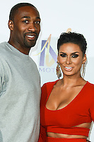 HOLLYWOOD, LOS ANGELES, CA, USA - JUNE 09: Gilbert Arenas, Laura Govan at the Los Angeles Premiere Of Screen Gems' 'Think Like A Man Too' held at the TCL Chinese Theatre on June 9, 2014 in Hollywood, Los Angeles, California, United States. (Photo by David Acosta/Celebrity Monitor)
