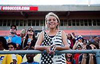 Fans.  The USWNT defeated Brazil, 4-1, at an international friendly at the Florida Citrus Bowl in Orlando, FL.