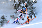 FIS Alpine Ski World Cup - Covid-19 Outbreak -  2nd Men's Downhill Ski event on 19/12/2020 in Val Gardena, Gröden, Italy. In action Valentin Giraud Moine (FRA)