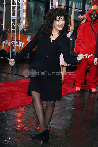 NEW YORK, NY- OCTOBER 31: Dylan Dreyer as Elaine from Seinfeld at NBC's Today Show Annual Halloween Episode at Rockefeller Center in New York City on October 31, 2019. credit: RW/MediaPunch