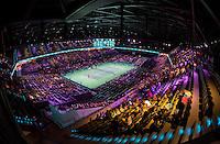Februari 11, 2015, Netherlands, Rotterdam, Ahoy, ABN AMRO World Tennis Tournament, Andy Murray (GBR) <br /> Photo: Tennisimages/Henk Koster