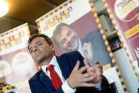 Roma, 17 Maggio 2016<br /> Stefano Fassina in conferenza stampa parla della riammissione da parte del Consiglio di Stato, della sua candidatura a sindaco di Roma .<br /> <br /> Stefano Fassina during a press conference speaks about the admission by the State Council of his candidacy for mayor of Rome
