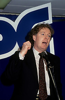 April 1993 File Photo - Jean Charest, leader of the federal Progressive Conservative Party of Canada (1993ñ1998)