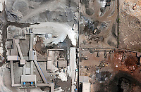 Quarry areas and heavy industry in the city of Jiangyin. /Felix Features