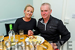 Audrey Wallace and Mike Houlihan enjoying the evening in Sforno on Friday