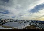 Dave's Run with UFO, Mammoth Mountain, Eastern Sierras, Mono County, California