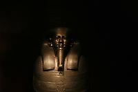 ITALIA - Torino - Museo Egizio  sarcofago di Gemenefherbhak Il sarcofago appartiene al giudice e primo ministro G. da Sais capitale durante la XXVI dinastia