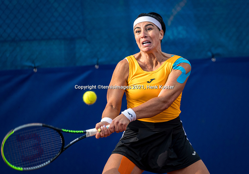 Amstelveen, Netherlands, 7 Juli, 2021, National Tennis Center, NTC, Amstelveen Womans Open, Ekaterine Gorgodze (GEO)<br /> Photo: Henk Koster/tennisimages.com