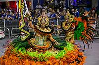 SÃO PAULO, SP, 01.03.2019: CARNAVAL-SP – Apresentação da escola de samba Colorado do Brás durante o primeiro dia de desfile do Grupo Especial do carnaval de São Paulo, nesta sexta-feira (01), no Sambódromo do Anhembi na capital paulista. (Foto: Marivaldo Oliveira/Código19)
