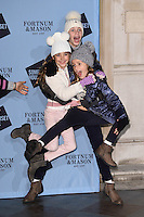 Tamara Beckwith family<br /> at the launch of the Skate at Somerset House ice rink, London.<br /> <br /> <br /> ©Ash Knotek  D3199  16/11/2016