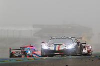 #83 AF Corse Ferrari 488 GTE EVO LMGTE Am, François Perrodo, Nicklas Nielsen, Alessio Rovera, 24 Hours of Le Mans , Race, Circuit des 24 Heures, Le Mans, Pays da Loire, France