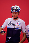 Chris Froome (GBR) Isreal Start-Up Nation at sign on before the start of Stage 5 of the 2021 UAE Tour running 170km from Fujairah to Jebel Jais, Fujairah, UAE. 25th February 2021.  <br /> Picture: Eoin Clarke   Cyclefile<br /> <br /> All photos usage must carry mandatory copyright credit (© Cyclefile   Eoin Clarke)