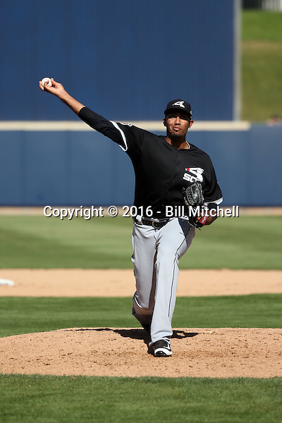 Michael Ynoa - Chicago White Sox 2016 spring training (Bill Mitchell)