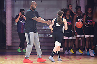 21st October 2017; Paris, France; Kobe Bryant, Los Angeles basketball star holds a training camp in Paris for kids;  Kobe Bryant