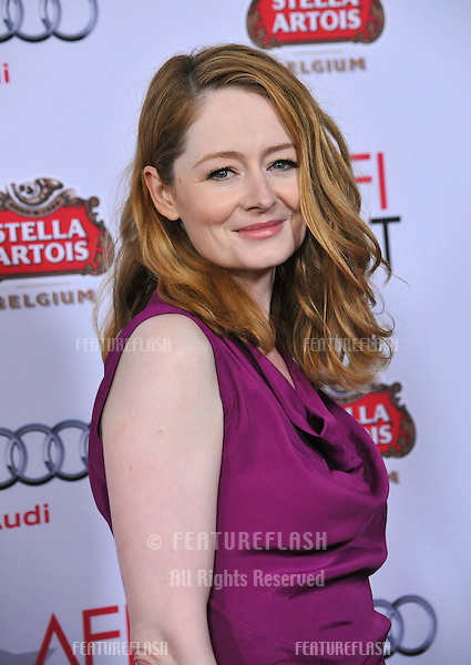 """Miranda Otto at the gala screening of her movie """"The Homesman"""" as part of the AFI Fest 2014 at the Dolby Theatre, Hollywood.<br /> November 11, 2014  Los Angeles, CA<br /> Picture: Paul Smith / Featureflash"""