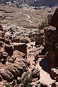 A PIECE OF JORDAN - TRAVEL FEATURE. SCENES FROM THE ANCIENT NABATEAN SITE OF PETRA, JORDAN.  PHOTO BY CLARE KENDALL. 07971 477316.