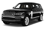 2018 Land Rover Range Rover Autobiography Select Doors Door SUV angular front stock photos of front three quarter view