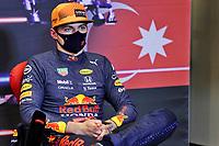 5th June 2021;  F1 Grand Prix of Azerbaijan 33 Max Verstappen NED, Red Bull Racing, F1 Grand Prix of Azerbaijan at Baku City Circuit at press conference