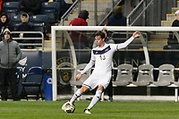 Chester, PA - Friday December 08, 2017: Pau Belana The Stanford Cardinal defeated the Akron Zips 2-0 during an NCAA Men's College Cup semifinal match at Talen Energy Stadium.