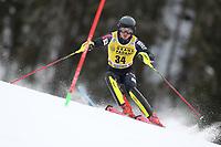 21st December 2020; Alta Badia Ski Resort, Dolomites, Italy; International Ski Federation World Cup Slalom Skiing; Istok Rodes (CRO)