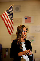 A teacher at Myers Park High School in Charlotte, NC, (Mecklenburg County). Myers Park High School is part of CMS, Charlotte-Mecklenburg Schools, a public school system that is the second-largest school district in North Carolina and the 20th-largest school system in the nation.