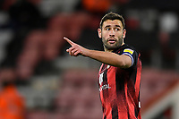 AFC Bournemouth captain Steve Cook during AFC Bournemouth vs Wycombe Wanderers, Sky Bet EFL Championship Football at the Vitality Stadium on 15th December 2020