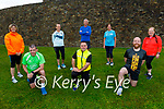Tralee Born to Run return to training following the easing of lockdown restrictions on Tuesday evening. Kneeling l to r: Liam Horan, Kieran Nolan and Gerard Neenan.<br /> Back l to r: Mairead Moore, Pauline and Jim O'Mara, Noreen O'Leary and Mary Holly