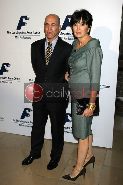 Jeffrey Katzenberg and wife<br />at the Friends of the Los Angles Free Clinic Annual Dinner Gala. Beverly Hilton Hotel, Beverly Hills, CA. 11-20-06<br />Dave Edwards/DailyCeleb.com 818-249-4998