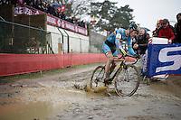 Daan Soete (BEL/Telenet-Fidea)<br /> <br /> U23 men's race<br /> <br /> UCI 2016 cyclocross World Championships / Zolder, Belgium