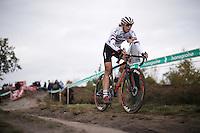 Helen Wyman (GBR/Kona)<br /> <br /> Elite Women's race<br /> Superprestige Zonhoven 2015
