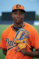 Pitcher Alex Speas (34) of McEachern High School in Powder Springs, Georgia playing for the Baltimore Orioles scout team during the East Coast Pro Showcase on July 28, 2015 at George M. Steinbrenner Field in Tampa, Florida.  (Mike Janes/Four Seam Images)