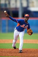 New York Mets pitcher Michel Otanez (26) during an Instructional League game against the Miami Marlins on September 29, 2016 at the Port St. Lucie Training Complex in Port St. Lucie, Florida.  (Mike Janes/Four Seam Images)