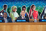 Every Woman Every Child high-level event:  Launching the Updated Global Strategy for Women's, Children's and Adolescents' Health for the Sustainable Development Goals<br /> Remarks by the Secretary-General