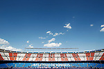 Atletico de Madrid's stadium Vicente Calderon during La Liga match. April 15,2017. (ALTERPHOTOS/Acero)
