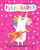 Dreams, CHILDREN, KINDER, NIÑOS, paintings+++++,MEDAKID12/1,#K#, EVERYDAY ,unicorn,unicorns