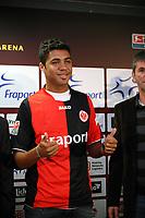 16.01.2008: Vorstellung Caio bei Eintracht Frankfurt