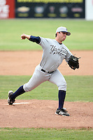 July 9th 2007:  Jason Kiley of the Staten Island Yankees, Class-A affiliate of the New York Yankees, at Dwyer Stadium in Batavia, NY.  Photo by:  Mike Janes/Four Seam Images
