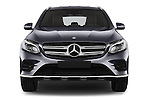 Car photography straight front view of a 2016 Mercedes Benz GLC Launch Edition 5 Door Suv Front View